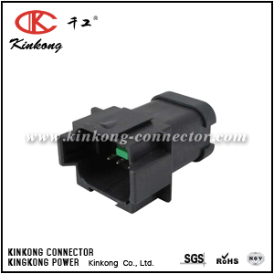 DT04-08PB-P028 8 pin male automotive connector