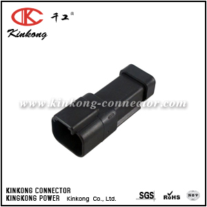 DT04-2P-P060 2 pins blade electrical connector