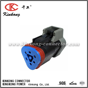 DT06-3S-PE01 3 way female electrical connector