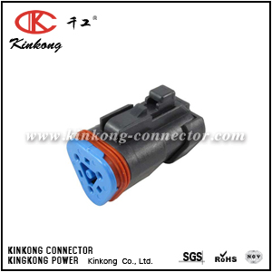 DT06-3S-PP01 3 pole female automobile connector