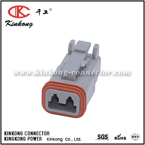 DT06-2S 2 hole DT series female electrical connector