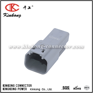 DT04-2P TE 2 pin male wire connectors