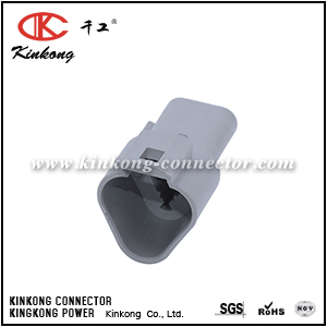 DT04-3P TE 3 pins male electrical connector