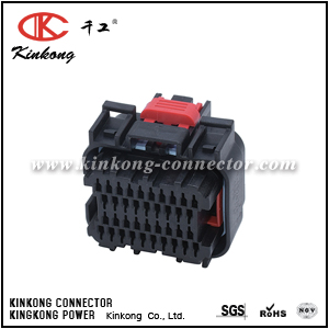 38 hole female automotive wire connectors CKK7381B-0.7-21
