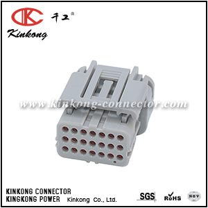21 way female electriacl wire connectors CKK721A-0.7-21