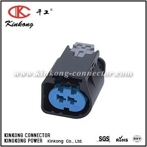 09444026 2 hole receptacle wire connector CKK7027VP-3.5-21