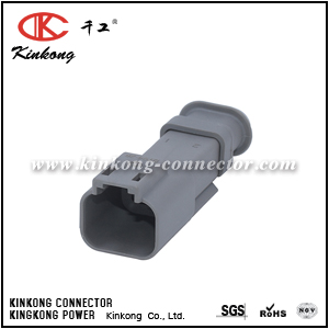 DT04-2P-E008 TE 2 pins male automotive connector