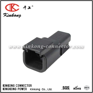 DTMH04-2PB 2 pin male wire connector