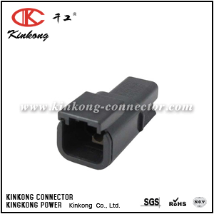DTMH04-2PD 2 pin waterproof connector