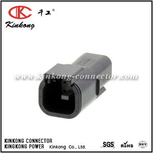 DTMH04-4PA 4 pins blade automobile connector