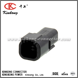 DTMH04-4PB 4 pin male cable connector