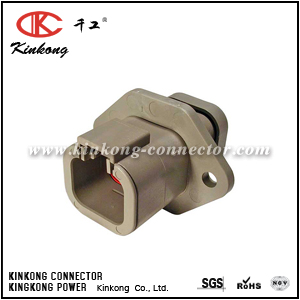 DTP04-4P-LE07 4 pin male electric connector