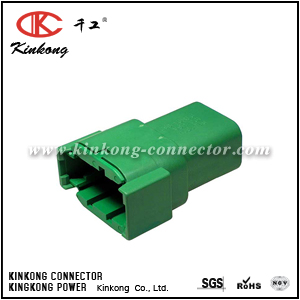DTM04-08PC 8 pin male automobile connector