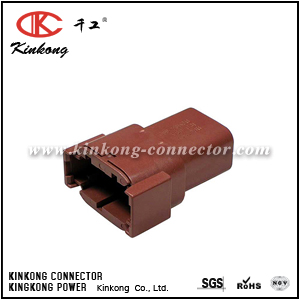 DTM04-08PD 8 pins blade wire connector
