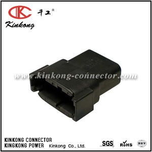 DTM04-12PB 12 pin male electrical connector