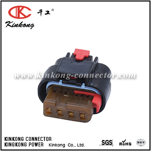 1-1456426-6 4 way female wire connector