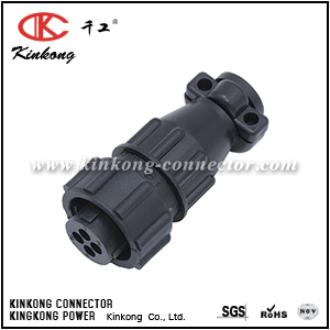 182647-1 4 pole female circular power connector