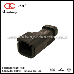 DTM04-2P-EP10 2 pins blade automobile connector