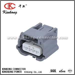 4 pole female waterproof automotive connectors CKK7041Y-0.6-21