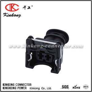 2 pole female cable wire connectors CKK7023Z-3.5-21