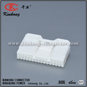 6098-4010 90980-12404 24 way female Navigation receiver connector CKK5244W-0.6-21