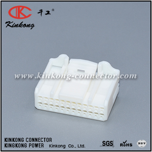 1717112-1 90980-12554 24 pole female Navigation receiver connector CKK5242W-0.6-21