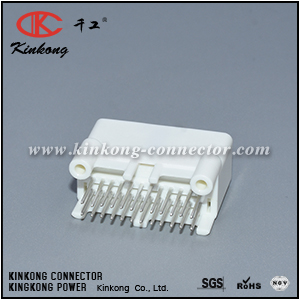 1376111-2 24 pins blade cable connector CKK5241WS-0.7-11