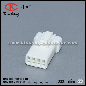 04R-JWPF-VSLE-S 4 hole female wire connectors CKK7041D-0.7-21