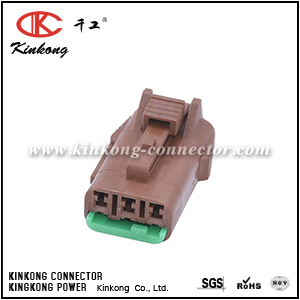 PB015-03850 3 ways female socket housing CKK7036B-1.5-21