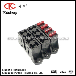 12004943 Stackable 4 Way ATC ATO Fuse Holder Block for GM LS1 LSX Hotrod