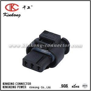 872-858-541 3C0 973 203  3 pole female electrical plug CKK7032-1.0-21