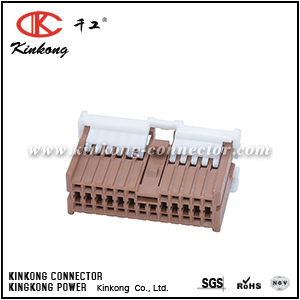 1123391-3 MG653537 24 hole female crimp connector CKK5241C-1.0-21