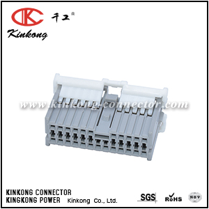 24 pole female wiring connector CKK5241G-1.0-21
