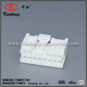 4F1340-000 13 ways female Toyota Corolla Junction Box connector CKK5135WL-2.2-21