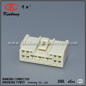 6098-1333 11 way female DL series connector CKK5113W-2.2-4.8-21
