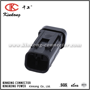 776534-2 2 pins waterproof connector plug