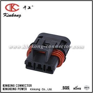 3 hole female waterproof cable connectors CKK7033-3.0-21