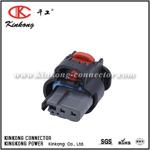 1-2203771-3 3 hole female electrical connector CKK7036H-1.0-21