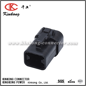 DTP06-4S-E004 ATP06-4S-BLK 4 hole female electrical connector