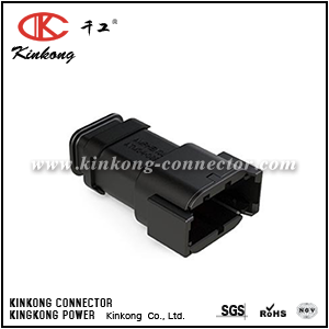 ATM04-08PB-SR1BK 8 pin male electrical connector