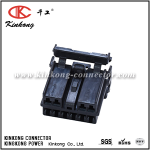 7123-8307-30 10 pole female crimp connector CKK5101B-1.8-21