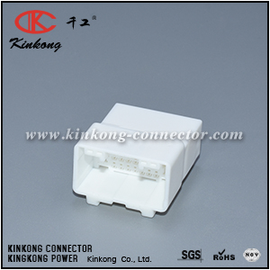 25 pins blade electrical connector CKK5251W-0.6-2.2-11