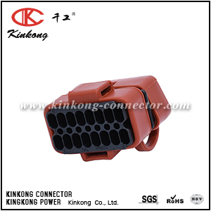 16 ways female OBD System of motorcycles connector CKK5166F-1.5-21