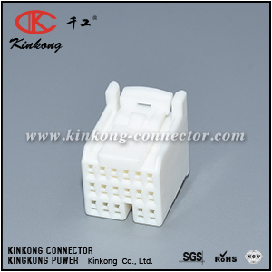 353027-1 90980-11586 17 pole female crimp connector CKK5172W-1.2-21